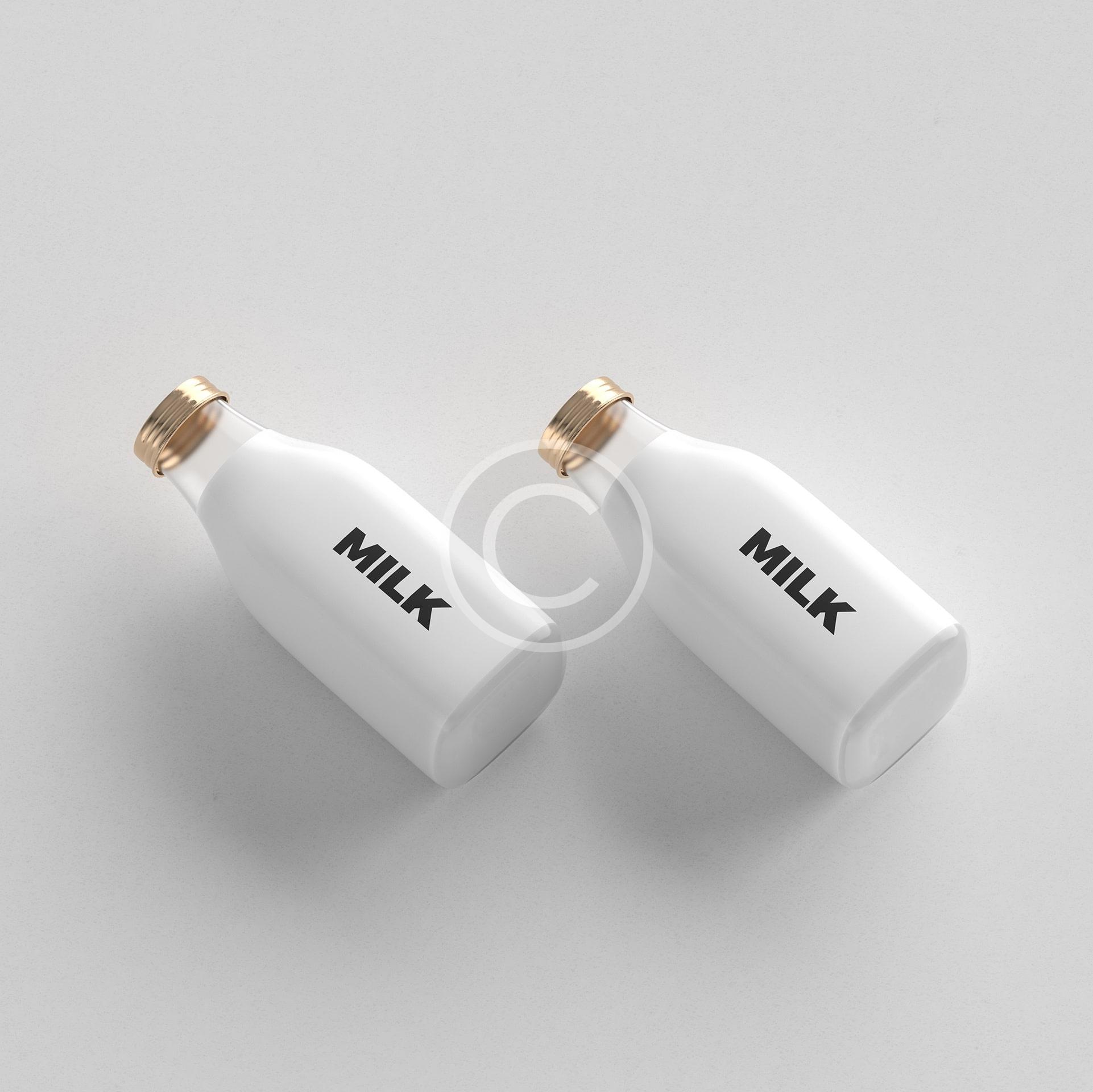Creative Milk Bottles
